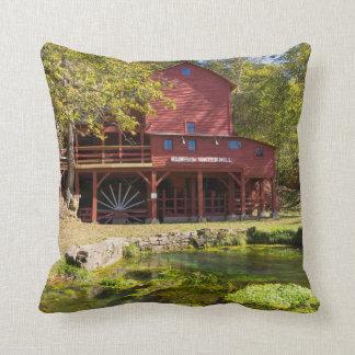 Hodgson Water Mill Throw Pillow