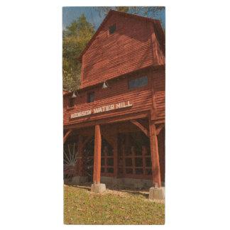 Hodgson Water Mill Wood USB Flash Drive
