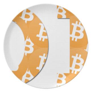 Hodl Bitcoin Plate