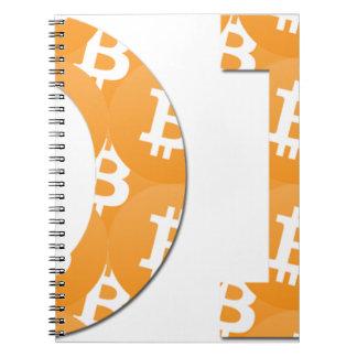 Hodl Bitcoin Spiral Notebook