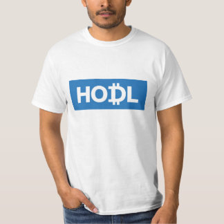 Hodl Cryptocurrency T-Shirt