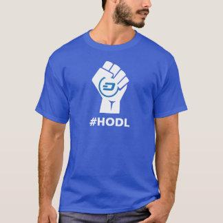 HODL Dash Logo: White T-Shirt