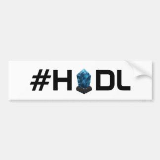 #HODL Lisk LSK Bumper Sticker