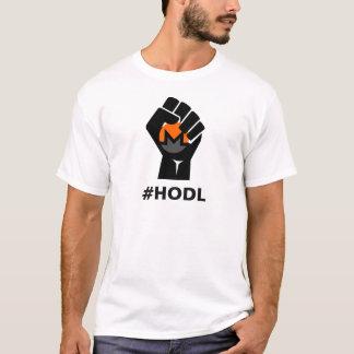 HODL Monero XMR Logo: Black T-Shirt