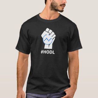 HODL NANO Currency XRB: WHITE T-Shirt