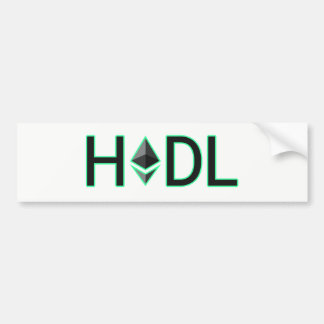HODL onto Your Ethereum Bumper Sticker