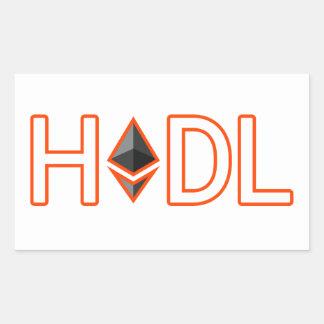 HODL onto Your Ethereum Sticker