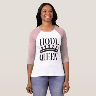 HODL Queen Women's Tee For Crypto Royalty