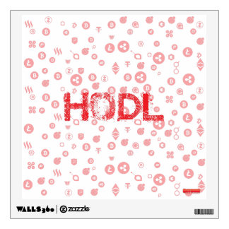HODL WALL DECAL