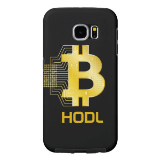 HODL your bitcoin Samsung Galaxy S6 Cases