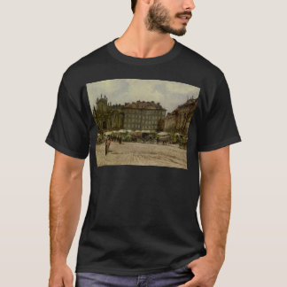 Hof Church in ​​Vienna by Rudolf von Alt T-Shirt