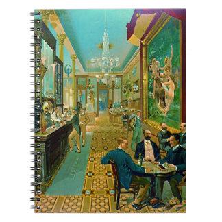 Hoffman House Bar 1890 Notebook