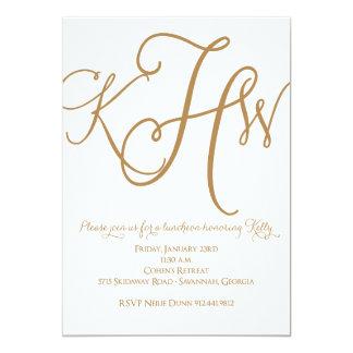 Hoffman Monogram Invite