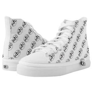 Hoffman's Oval Logo High Top Shoes