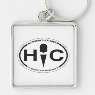 Hoffman's Oval Logo Keychain