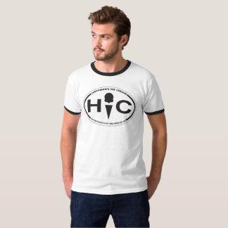 Hoffman's Oval Logo Ringer T-Shirt