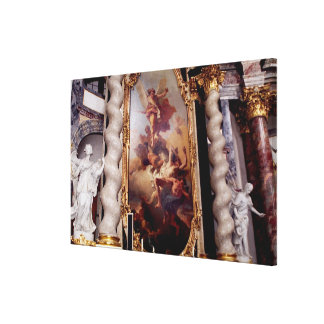 Hofkirche Chapel in the Residenz Palace, Gallery Wrapped Canvas