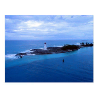 Hog Island Light Postcard