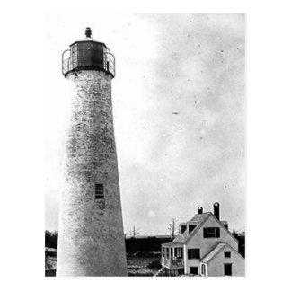 Hog Island Lighthouse Postcard