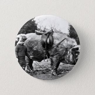 Hog Rider 2 Inch Round Button
