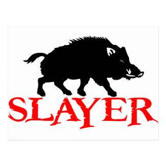 HOG SLAYER POSTCARD