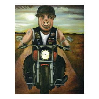 Hog Wild Letterhead