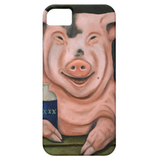 Hogging The Moonshine iPhone 5 Case