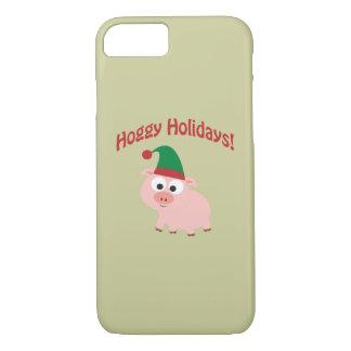 Hoggy Holidays! Elf Pig iPhone 7 Case