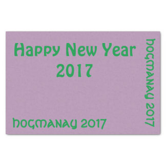 Hogmanay 2017 tissue paper