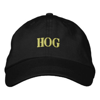 HOGS EMBROIDERED HAT