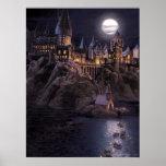Hogwarts Boats To Castle Print