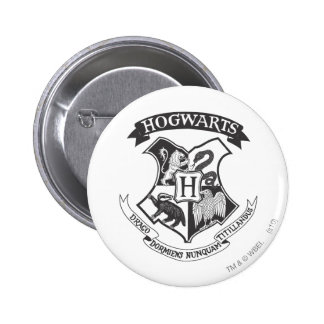 Hogwarts Crest 2 Pinback Button