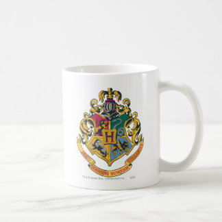 Hogwarts Crest Full Color Coffee Mug