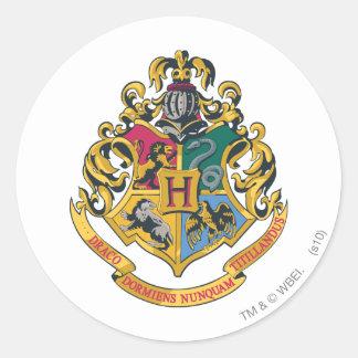 Hogwarts Crest Full Color Round Sticker
