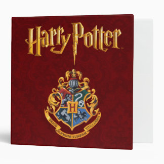 Hogwarts Crest Full Colour Vinyl Binder