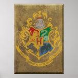 Hogwarts Crest HPE6 Poster