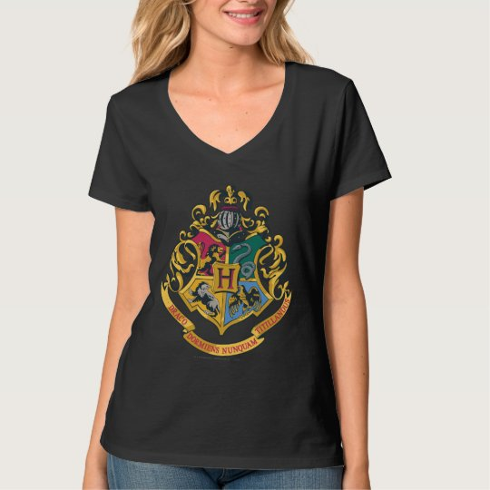Hogwarts Four Houses Crest T-Shirt