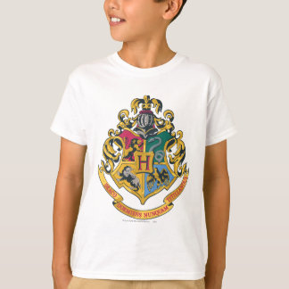 Hogwarts Four Houses Crest T-shirts