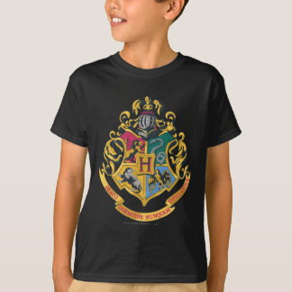 Hogwarts Four Houses Crest Tee Shirts
