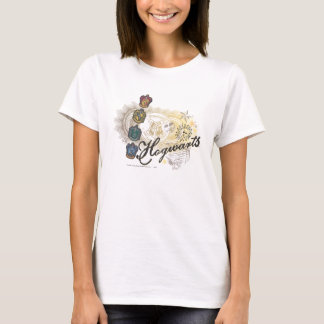 Hogwarts Logo and Profossors 2 T-Shirt
