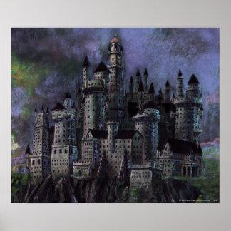 Hogwarts Magnificent Castle Posters