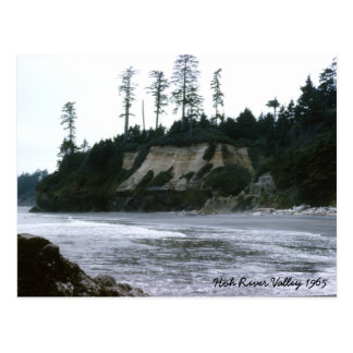 Hoh River Valley  1965 Postcard