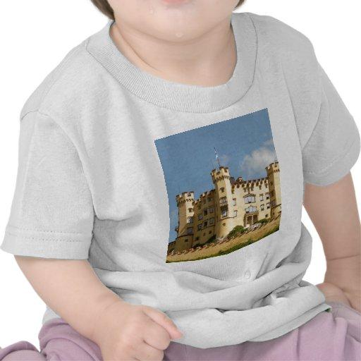 Hohenschwangau Castle Germany Tourist Gifts T-shirts