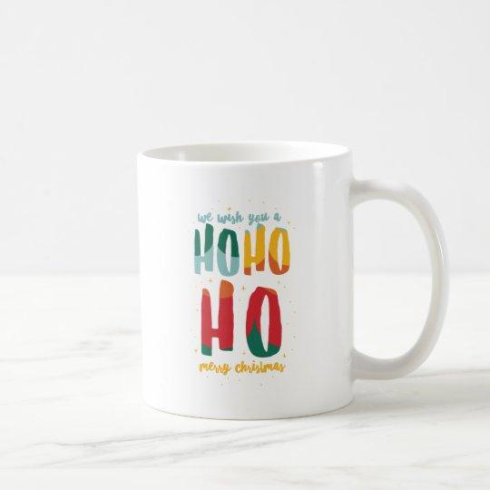 HOHOHO /ALT COLOR COFFEE MUG