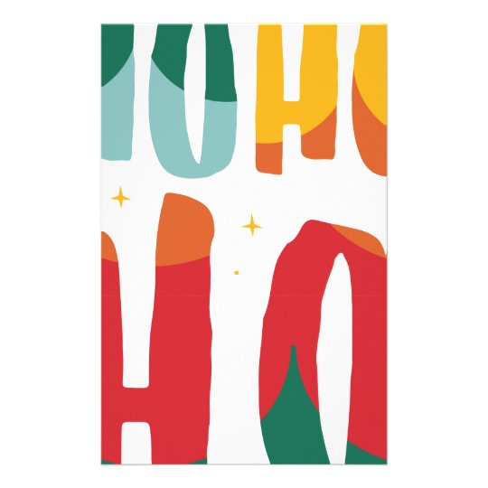 HOHOHO /ALT COLOR STATIONERY