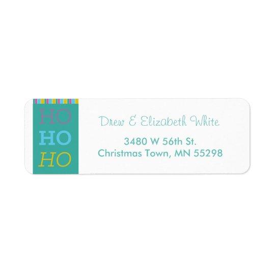 HOHOHO Holiday Labels