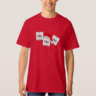 HoHoHo Holmium Chemistry Element Christmas Pun Tee Shirts