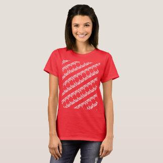 hohohohohohoho in mirror pattern T-Shirt