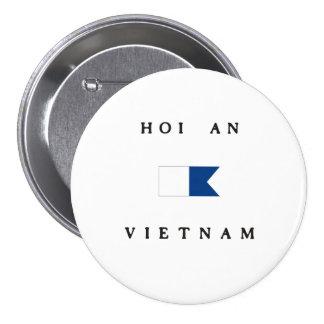 Hoi An Vietnam Alpha Dive Flag Button