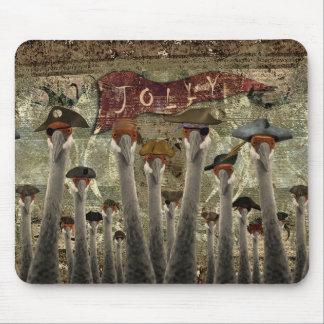 Hoist The Jolly Mouse Pad